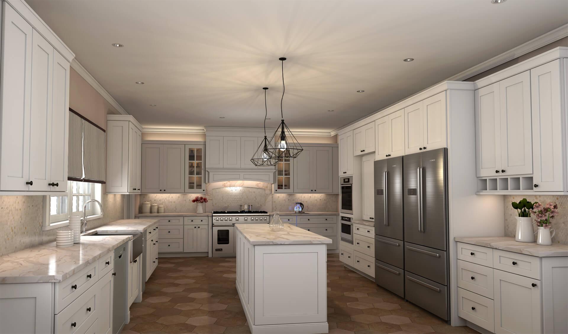dover latte white kitchen cabinets